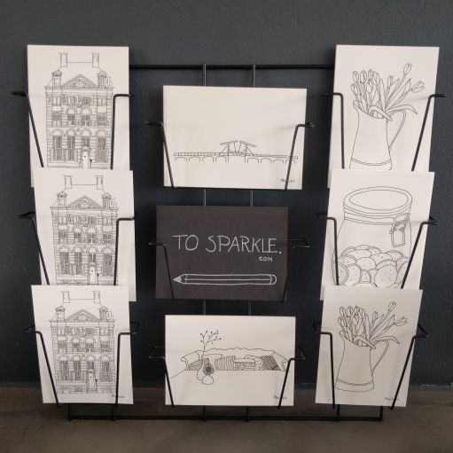 To Sparkle - Postcard Rack